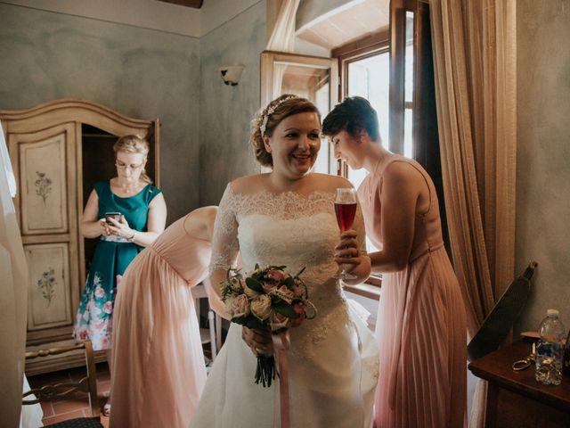 Il matrimonio di Joram e Claudia a Poggibonsi, Siena 14