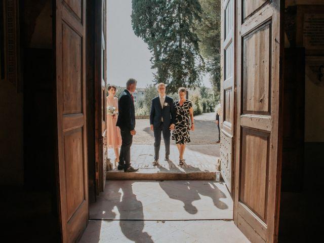 Il matrimonio di Joram e Claudia a Poggibonsi, Siena 15