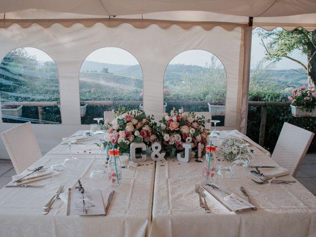 Il matrimonio di Joram e Claudia a Poggibonsi, Siena 38