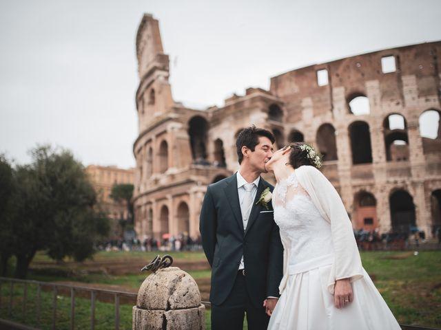 Il matrimonio di Leandro e Manuela a Roma, Roma 1