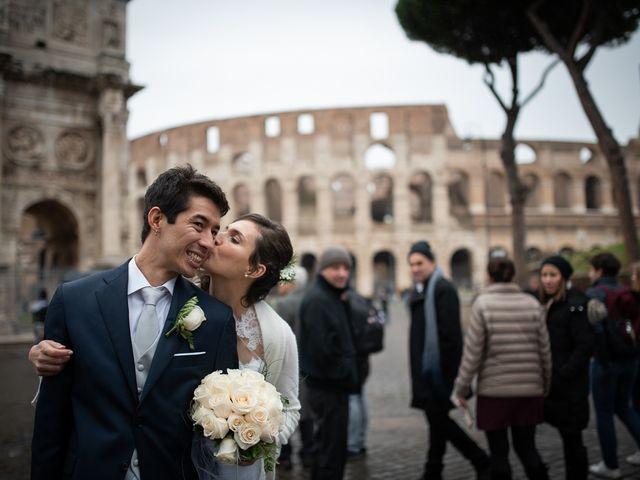 Il matrimonio di Leandro e Manuela a Roma, Roma 37