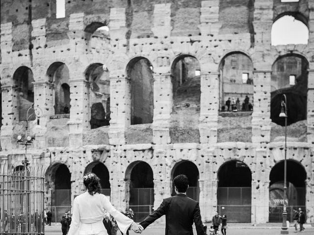 Il matrimonio di Leandro e Manuela a Roma, Roma 52