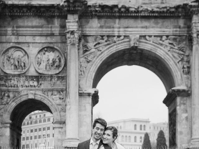 Il matrimonio di Leandro e Manuela a Roma, Roma 53