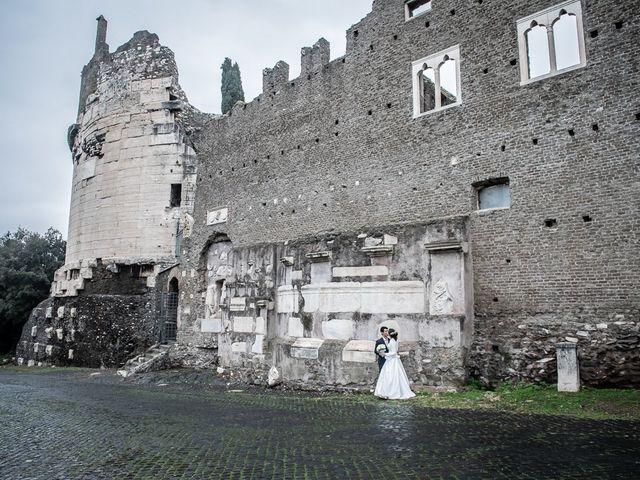 Il matrimonio di Leandro e Manuela a Roma, Roma 55