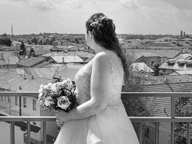 Il matrimonio di Emiliano e Maria a Nerviano, Milano 13