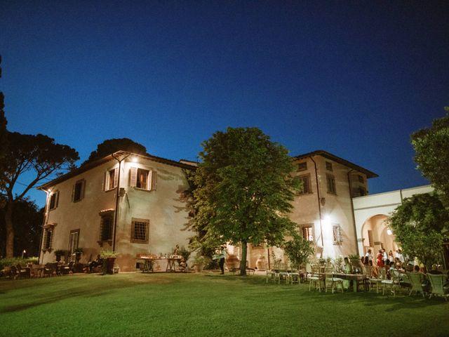 Il matrimonio di Lorenzo e Sara a Vinci, Firenze 69