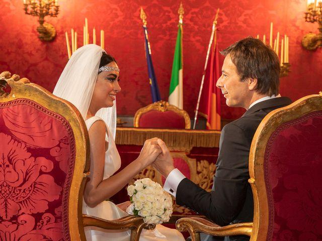 Il matrimonio di Salvatore e Homa a Roma, Roma 12