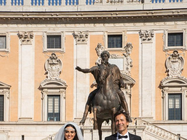 Il matrimonio di Salvatore e Homa a Roma, Roma 16