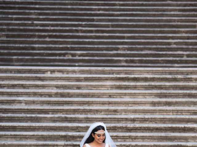 Il matrimonio di Salvatore e Homa a Roma, Roma 25