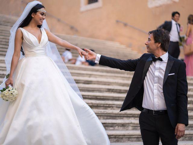 Il matrimonio di Salvatore e Homa a Roma, Roma 26