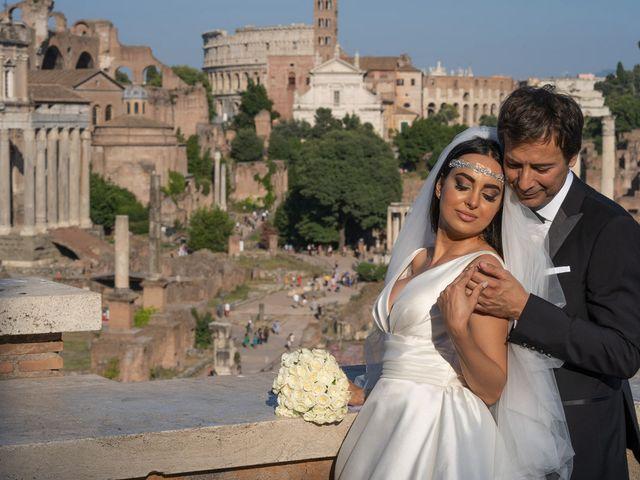 Il matrimonio di Salvatore e Homa a Roma, Roma 28