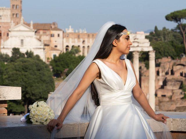 Il matrimonio di Salvatore e Homa a Roma, Roma 29