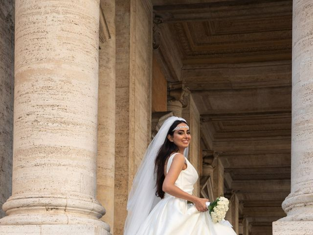 Il matrimonio di Salvatore e Homa a Roma, Roma 30