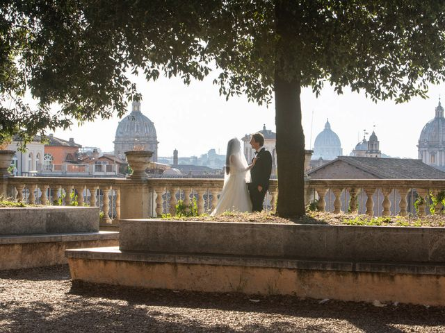 Il matrimonio di Salvatore e Homa a Roma, Roma 31