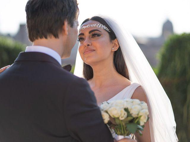 Il matrimonio di Salvatore e Homa a Roma, Roma 33