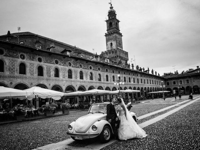 Il matrimonio di Mario e Simona a Mortara, Pavia 28