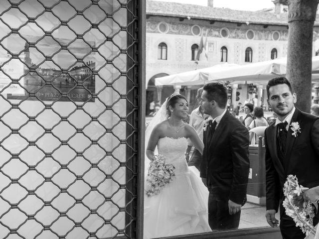 Il matrimonio di Mario e Simona a Mortara, Pavia 32