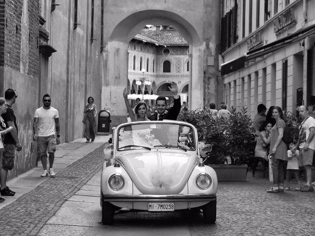 Il matrimonio di Mario e Simona a Mortara, Pavia 33