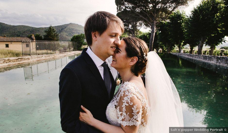 Il matrimonio di Francesco e Silvia a Arezzo, Arezzo
