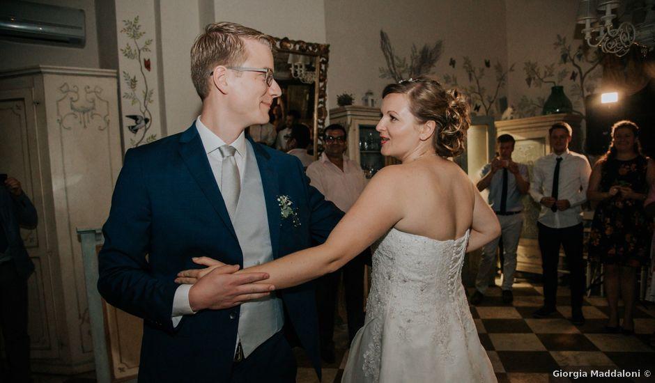 Il matrimonio di Joram e Claudia a Poggibonsi, Siena