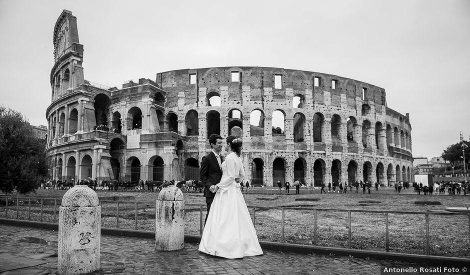 Il matrimonio di Leandro e Manuela a Roma, Roma