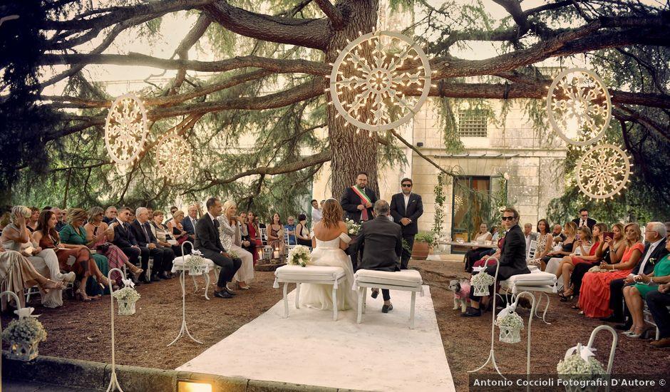 Il matrimonio di Enrico e Manuela a Maglie, Lecce