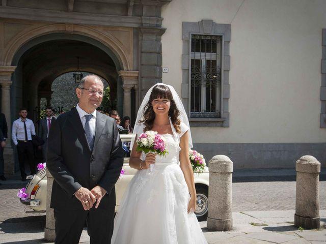 Il matrimonio di Luca e Alessandra a Treviglio, Bergamo 28