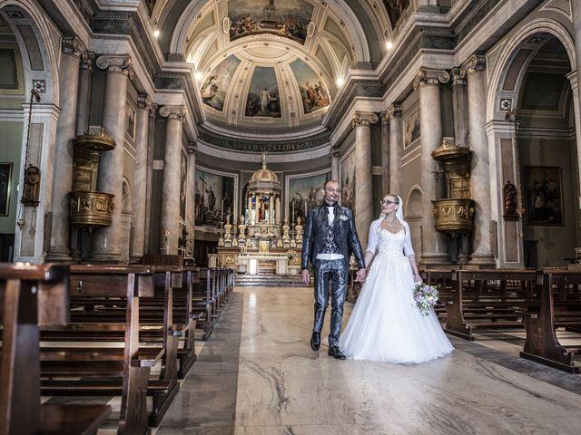 Il matrimonio di Luca e Silvia a Robecco sul Naviglio, Milano 22