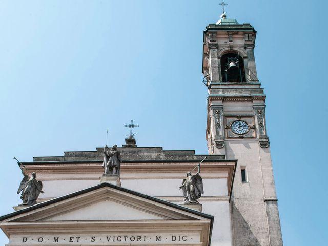 Il matrimonio di Luca e Silvia a Robecco sul Naviglio, Milano 26