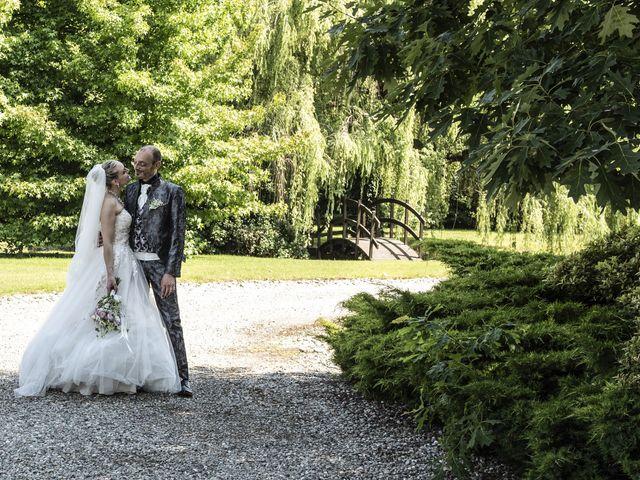 Il matrimonio di Luca e Silvia a Robecco sul Naviglio, Milano 37