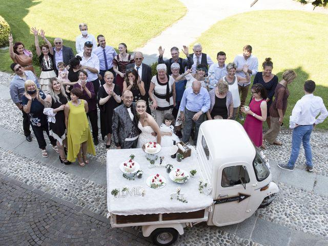 Il matrimonio di Luca e Silvia a Robecco sul Naviglio, Milano 42