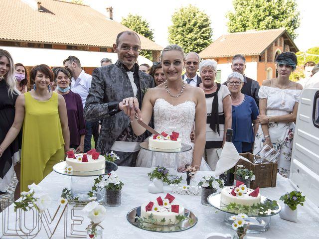 Il matrimonio di Luca e Silvia a Robecco sul Naviglio, Milano 43