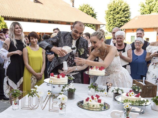 Il matrimonio di Luca e Silvia a Robecco sul Naviglio, Milano 44