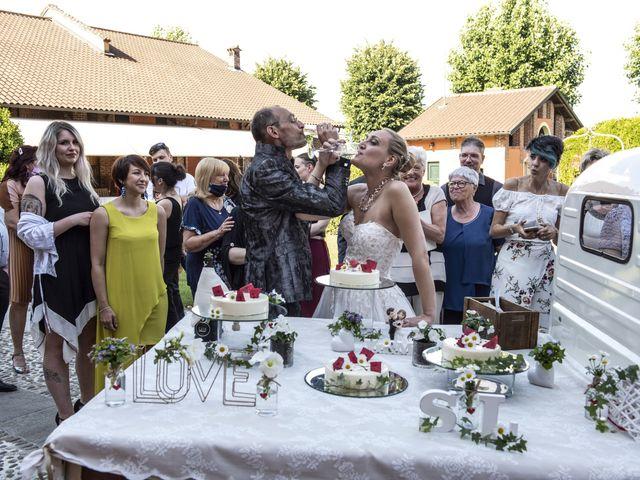 Il matrimonio di Luca e Silvia a Robecco sul Naviglio, Milano 45