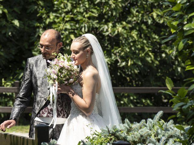 Il matrimonio di Luca e Silvia a Robecco sul Naviglio, Milano 35