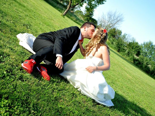 le nozze di Sarah e Paolo