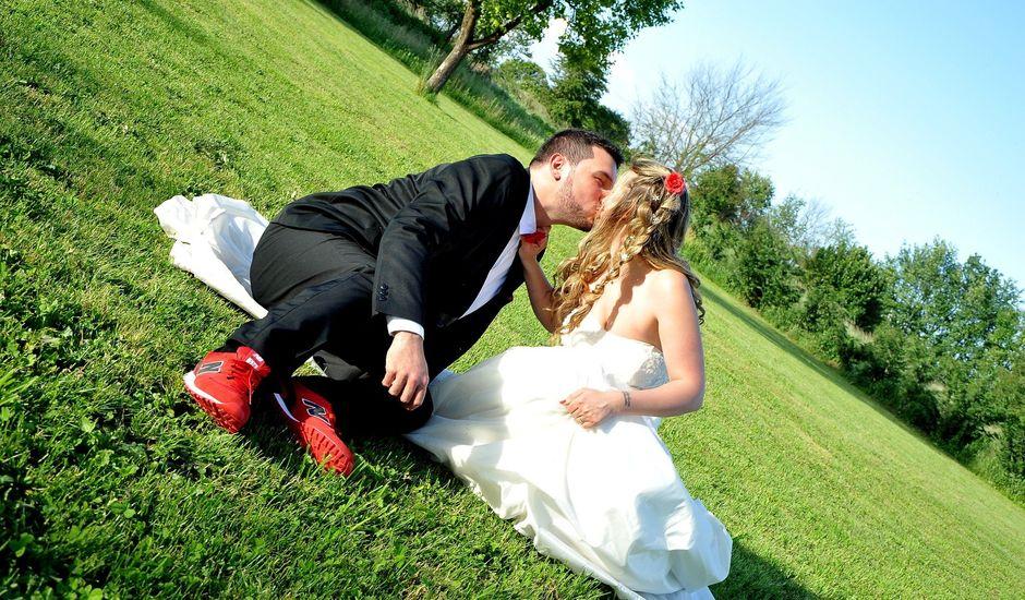 Il matrimonio di Paolo e Sarah a Binasco, Milano