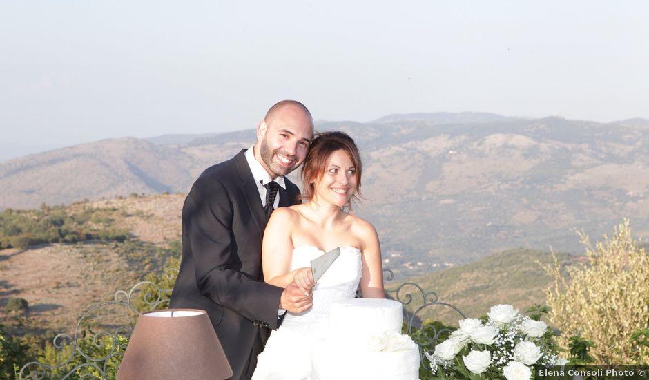 Il matrimonio di Giuliano e Gemma a Amaseno, Frosinone