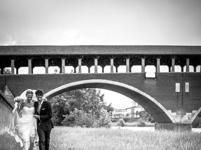 Il matrimonio di Matteo e Caterina a San Martino Siccomario, Pavia 43