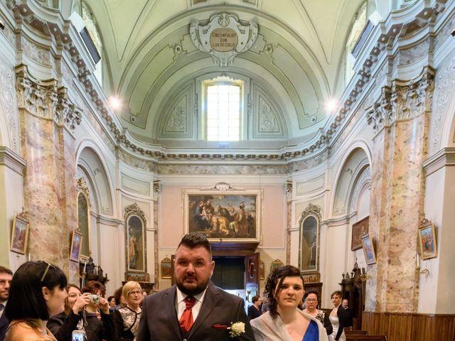 Il matrimonio di Davide e Paola a Monte Marenzo, Lecco 12