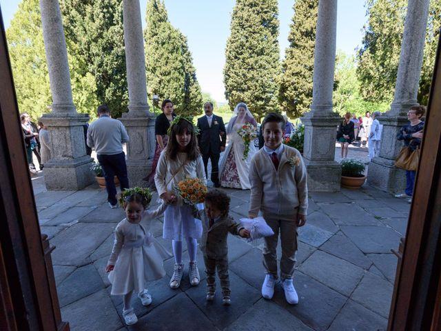 Il matrimonio di Davide e Paola a Monte Marenzo, Lecco 13