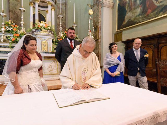 Il matrimonio di Davide e Paola a Monte Marenzo, Lecco 25