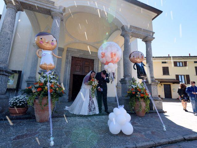 Il matrimonio di Davide e Paola a Monte Marenzo, Lecco 28