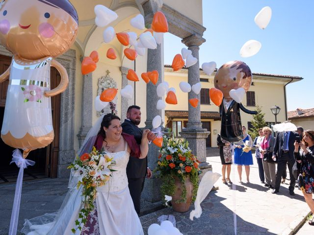 Il matrimonio di Davide e Paola a Monte Marenzo, Lecco 31