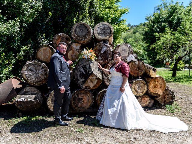 Il matrimonio di Davide e Paola a Monte Marenzo, Lecco 41