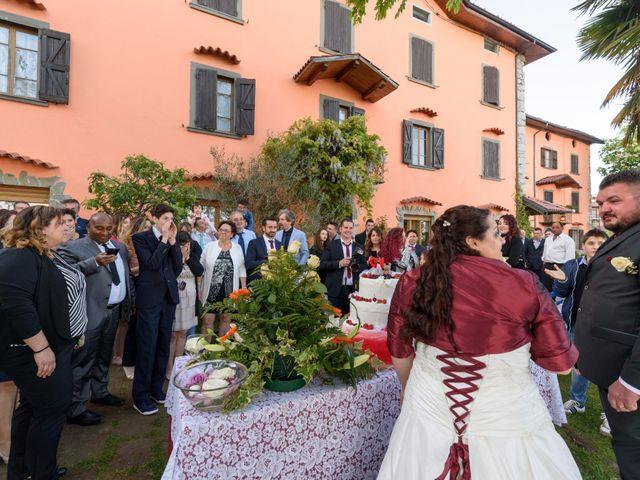 Il matrimonio di Davide e Paola a Monte Marenzo, Lecco 55