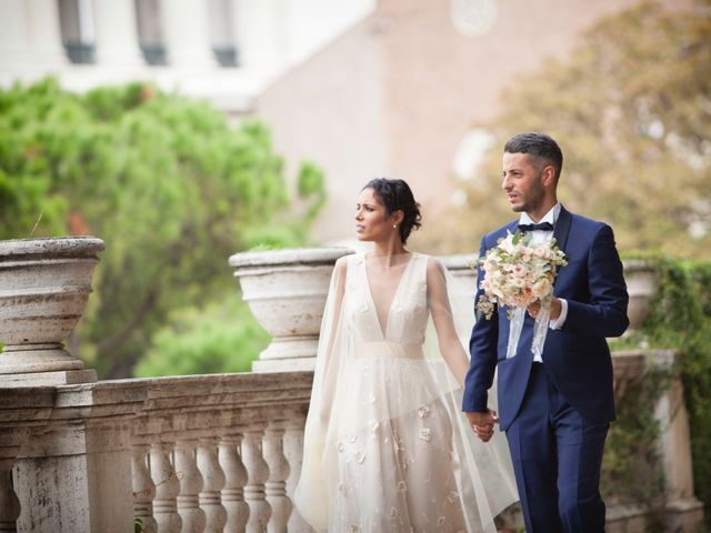 Il matrimonio di Jacopo e Francesca a Roma, Roma 2