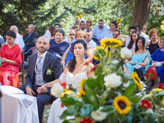 Il matrimonio di Michele e Valeria a Fubine, Alessandria 28