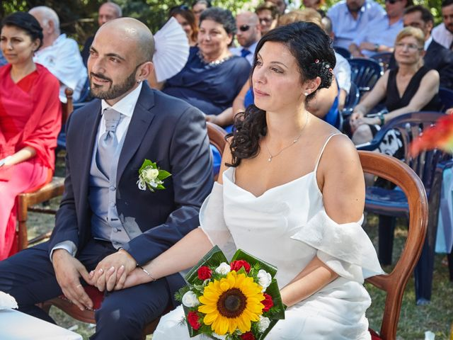 Il matrimonio di Michele e Valeria a Fubine, Alessandria 29