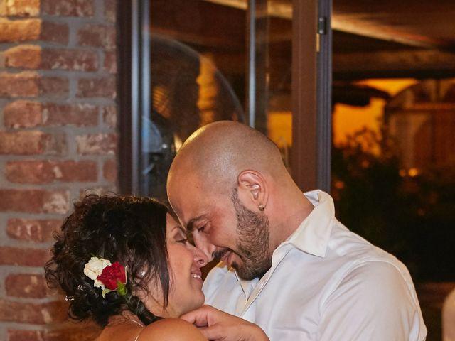 Il matrimonio di Michele e Valeria a Fubine, Alessandria 64